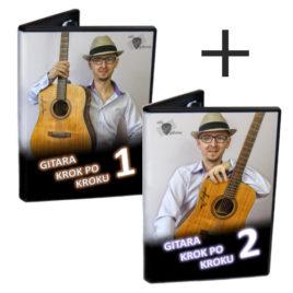 Gitara kok po kroku (1 + 2)<br>Pakiet kursów